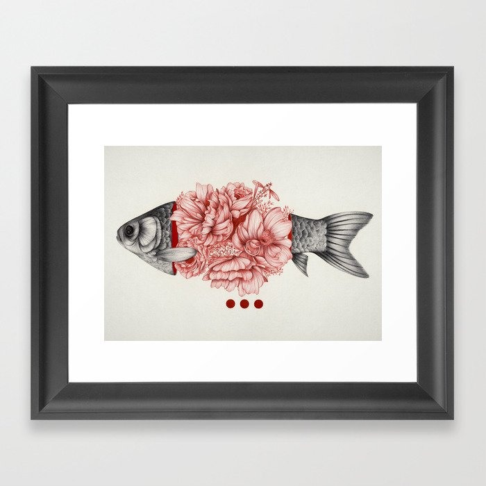 To Bloom Not Bleed III Framed Art Print