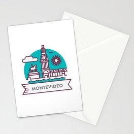 Travel: Montevideo, Uruguay Stationery Cards