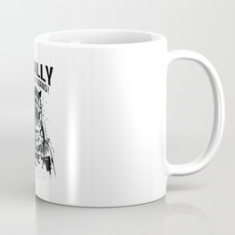 Space Cat Finally No More Humans Coffee Mug