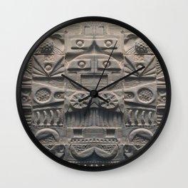 Lost Language Wall Clock
