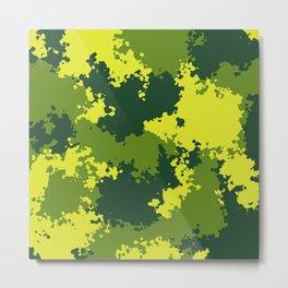 Camouflage jungle 2 Metal Print