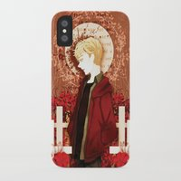kieren walker iPhone & iPod Cases featuring kieren by suto