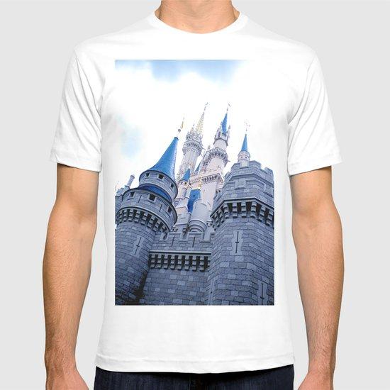 Disney Castle In Color T-shirt