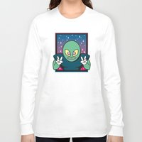 invader zim Long Sleeve T-shirts featuring Invader by Eliseo Diaz