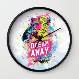 Dream Away Wall Clock