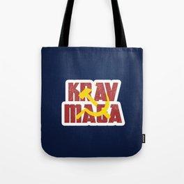 Krav Maga Russia Soviet Union Tote Bag