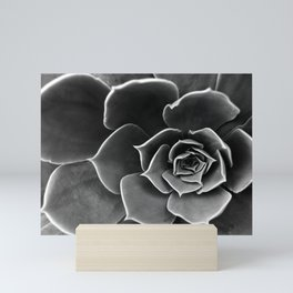 Succulent flower Mini Art Print