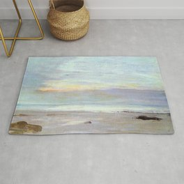 Crepuscule In Opal Trouville By James Mcneill Whistler | Reproduction Rug