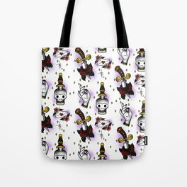 Sparkles, Skulls, and Knives Tote Bag