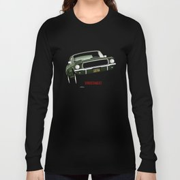 Ford Mustang Fastback GT 1968 from Bullitt Long Sleeve T-shirt