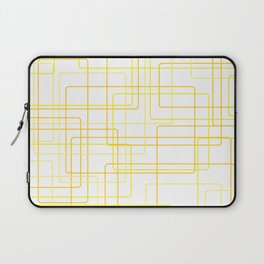 Yellow Line Pattern Laptop Sleeve