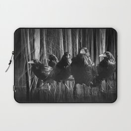 A Murder of Crows Laptop Sleeve