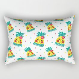 Miss Hawaiian Pineapple Rectangular Pillow