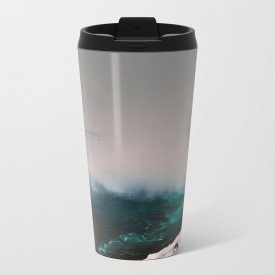 Niagara Falls Metal Travel Mug