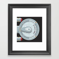 Enterprise - Star Trek Framed Art Print