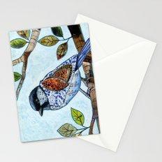Songbird 2 ... Collage Bird Art Stationery Cards