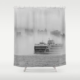 Out of the Mystic Shower Curtain