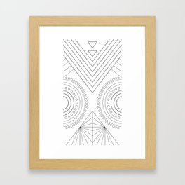archART no.004 Framed Art Print