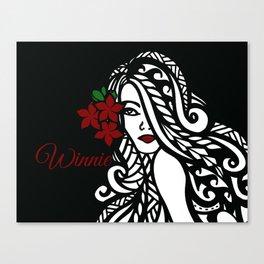 Winnie Canvas Print