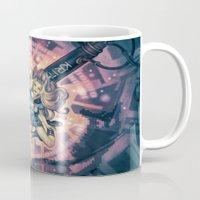 8bit Mugs featuring Splashing in 8Bit by Enrico Guarnieri 'Ico-dY'