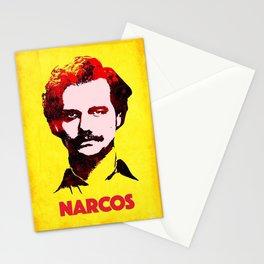 Narcos pablo escobar illustration Stationery Cards