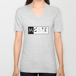 Musical word Unisex V-Neck