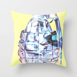 Art Bomb Throw Pillow