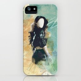 Isabelle Lightwood Print iPhone Case