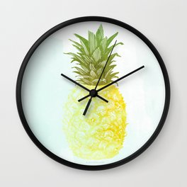Southern Hospitality Pineapple Wall Clock