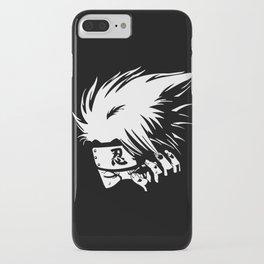 White Anime Hero Character iPhone Case