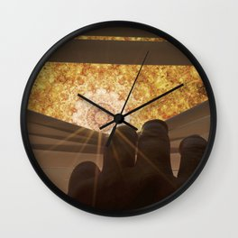 Mandala World Wall Clock