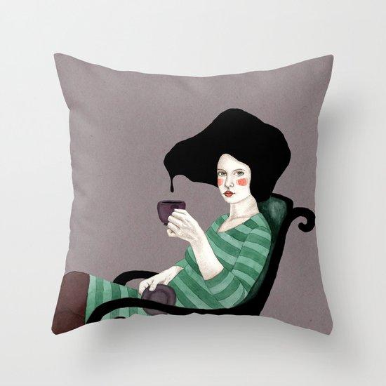 Tania Throw Pillow