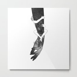 Don't drop me. Metal Print