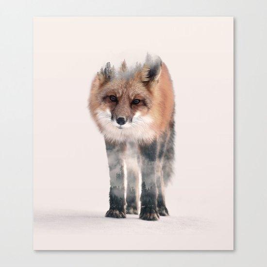 hondo kitsune Canvas Print