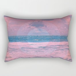 Pink Storm Rectangular Pillow