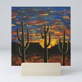 Brilliant Southwest Sunset Mini Art Print