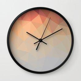 Retro Mesh Wall Clock