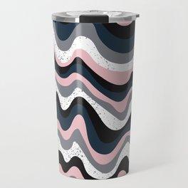 Dream Pink Abstract Travel Mug
