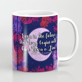 Once Upon a Time- The Lunar Chronicles Quote Coffee Mug