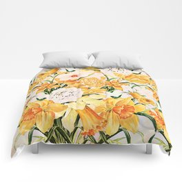 Wordsworth  and the daffodils. Comforters