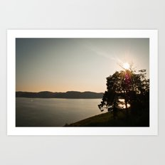 Lake Cumberland Sunset Art Print