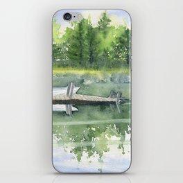 A Summer Pond iPhone Skin