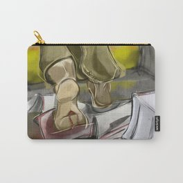 He is Not Here Carry-All Pouch