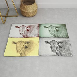 Here's Looking at Moo Rug