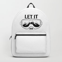 Let it snow! Backpack