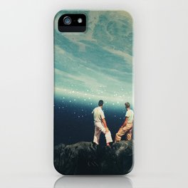The Earth was crying and We were there iPhone Case