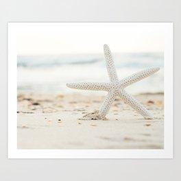 Hello Starfish Art Print