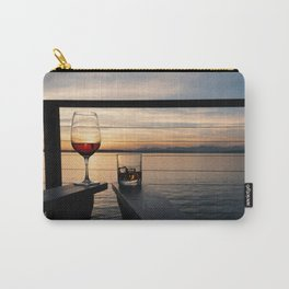 Wine and Whiskey Eve Carry-All Pouch