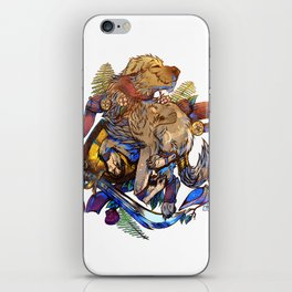 Expression of Life iPhone Skin
