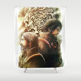 King and Prince ( Final fantasy XV ) Shower Curtain